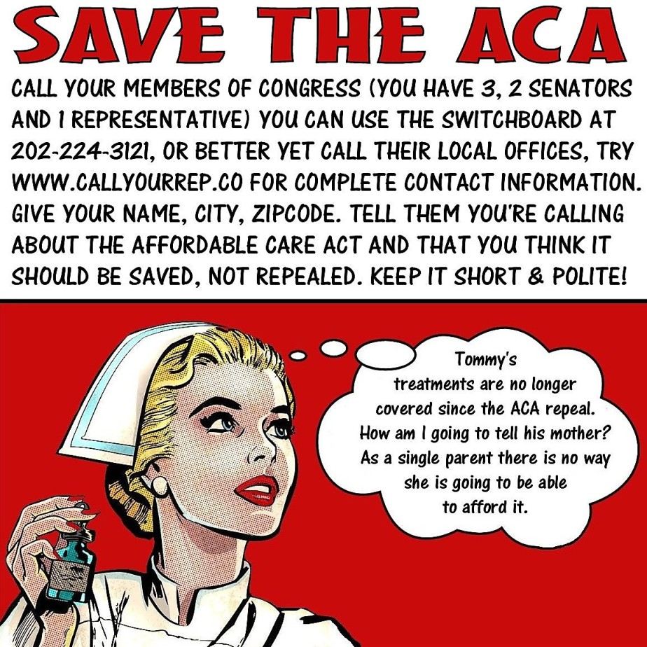 Save the ACA meme found online