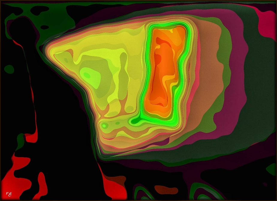 Digital Abstract based on screen capture