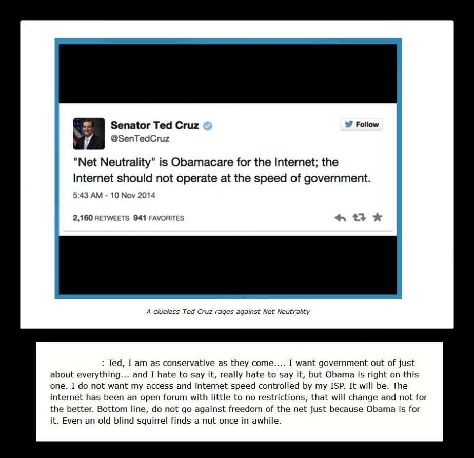 Net Neutrality is Obama Care for theInternet