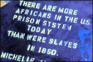 There are more African-American men in prison, jail, on probation or parole than were enslaved in 1850
