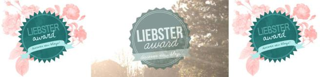 Graphic for the Liebster Award