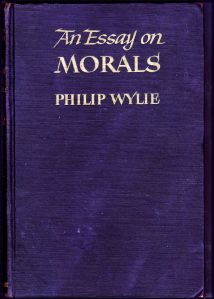 "The Cover of ""An Essay on Morals"""
