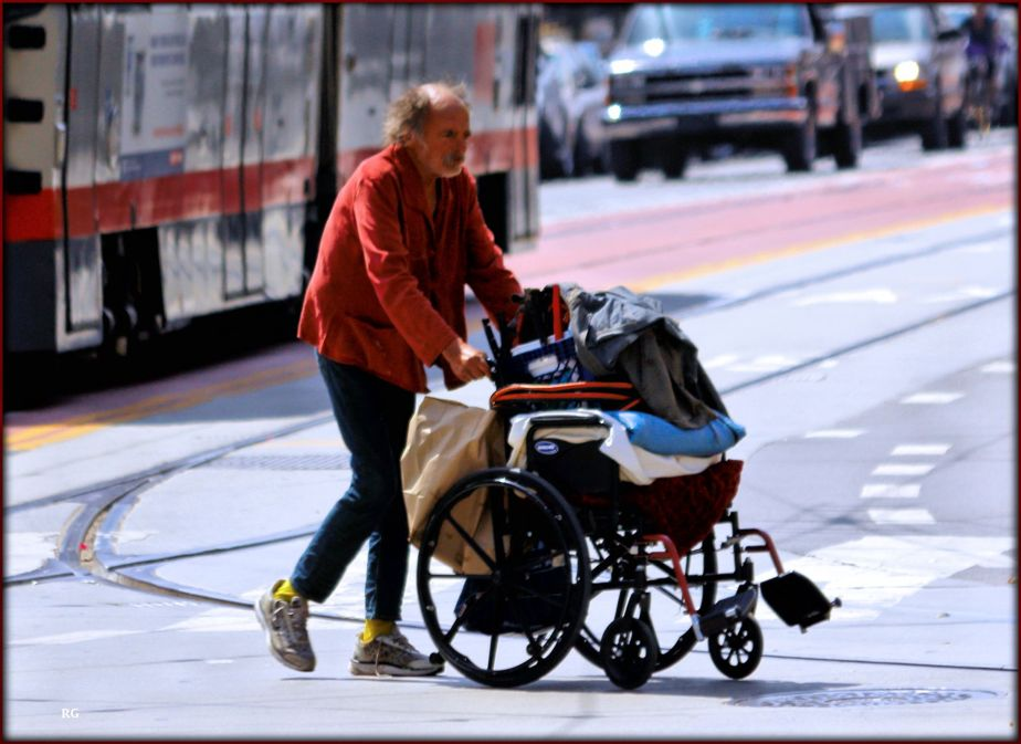 Homeless san Franciscan