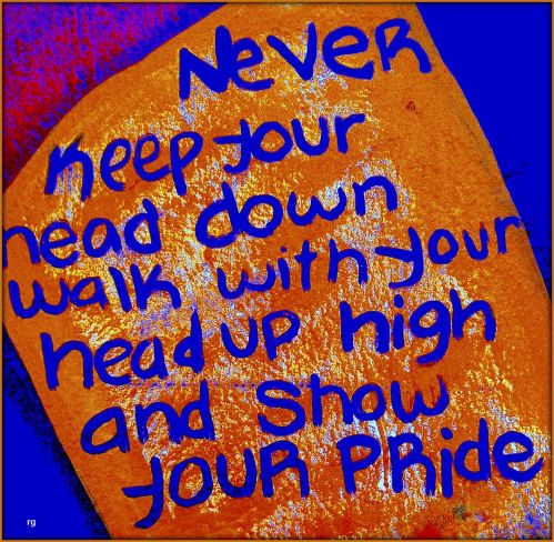 Never Keep Your Head Down