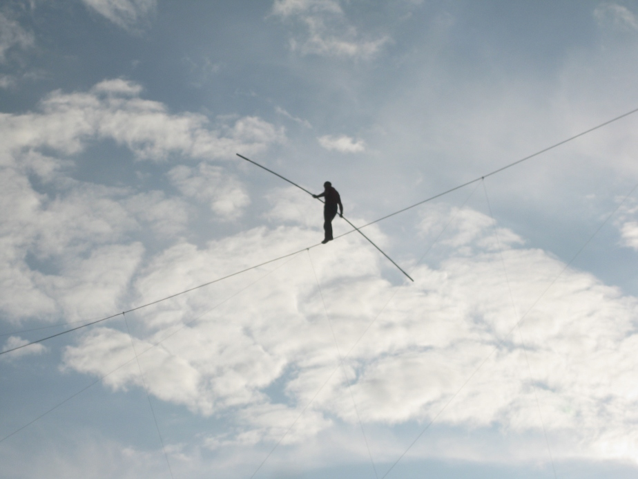A High-Wire Act