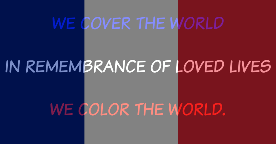 WE COLOR THEWORLD.