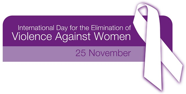 Happy International Day For the Elimination of Violence AgainstWomen