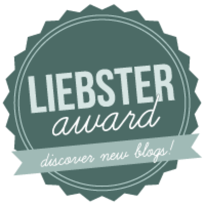 Awards: The Liebster Award!