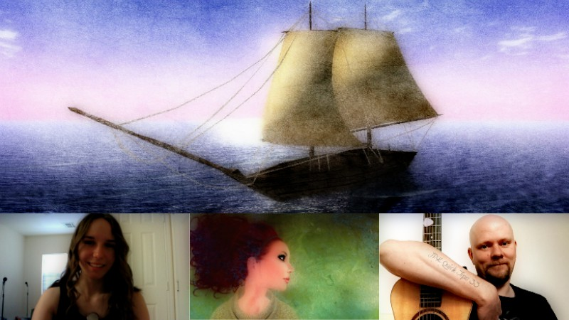 Magnificent Discovery: An Artists Collaboration: feat. Interpretive Photo Artist Becca & a Live Performance by J.P.Kallio