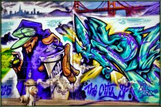 A mural in San Francisco's Mission District