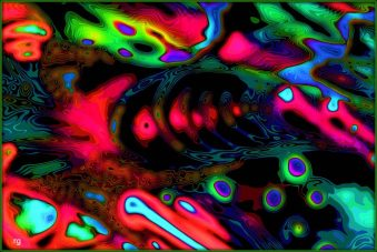 Digital Abstract Colorful