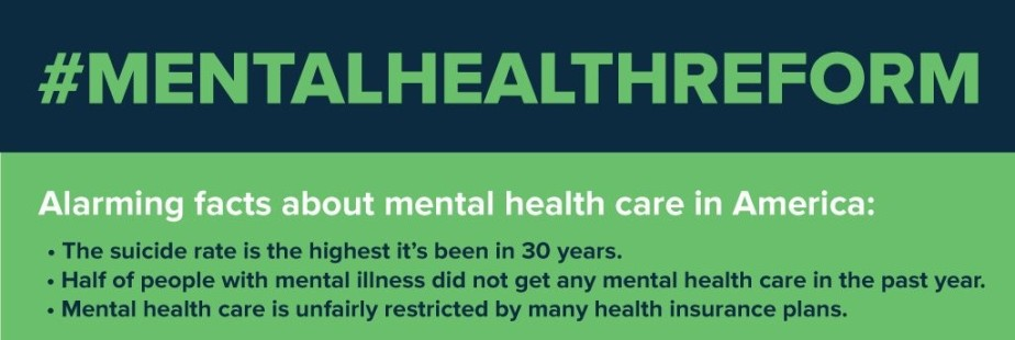 Facts About Mental Health Care: the suicide rate is the highest in thirty years