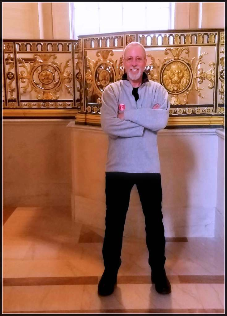 Photo of Rob Goldstein at San Francsico City Hall