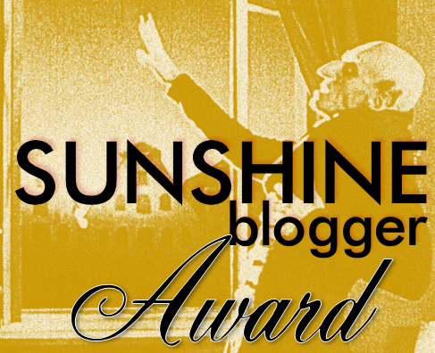 #Awards: The Sunshine Blogger Award