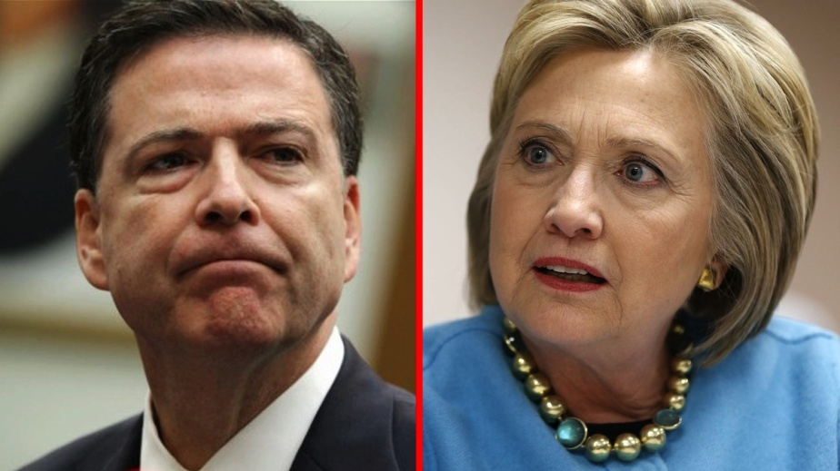 But For FBI Director James Comey, Hillary Clinton would be The Next US President