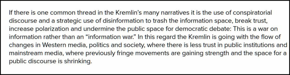Screenshot from a Legatum Institute essay on Russian Disinformation