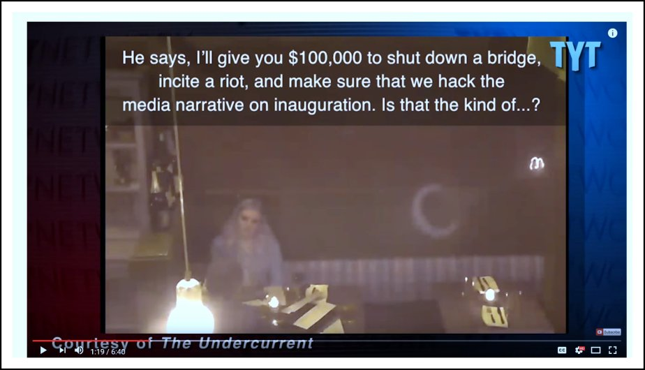 Project Veritas Caught Soliciting Crimes to Disrupt Trump's Inauguration