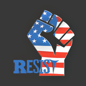 Fist of resistance