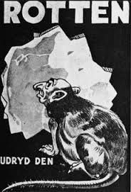 Nazi Propaganda that depicts Jews as Rats
