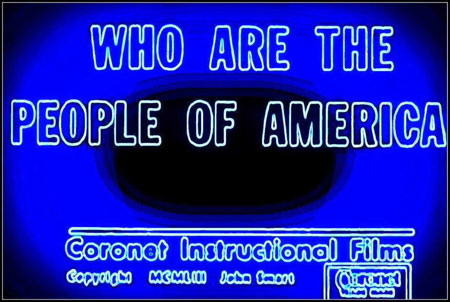 Great-Great Grandfather Knows Best: Who Are the People ofAmerica?