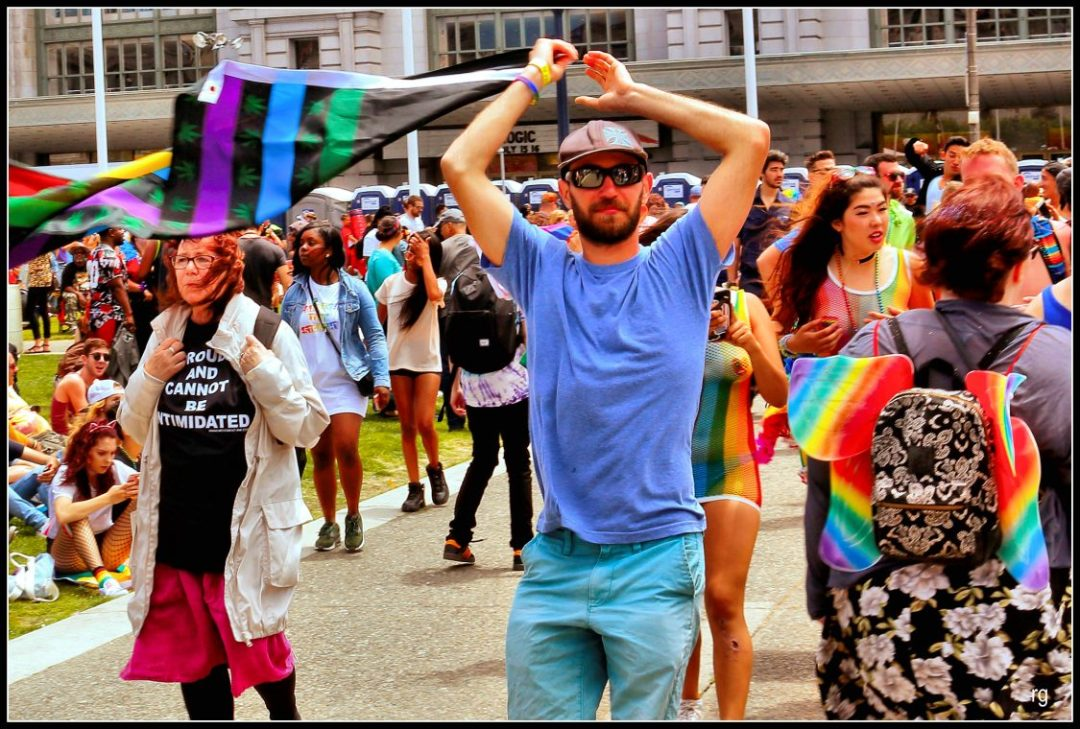 Photo from San Francisco's Pride day 2017