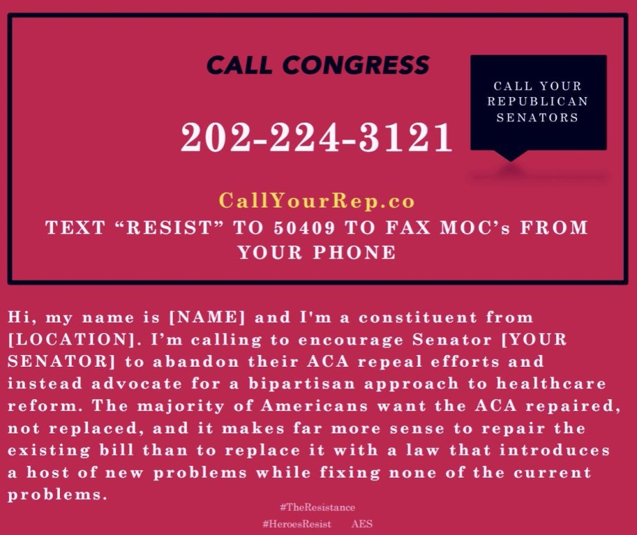 The phone number of the congressional switchboard: 202-224-3121