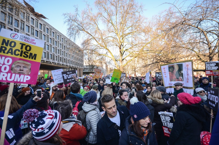 International Woman's March in London