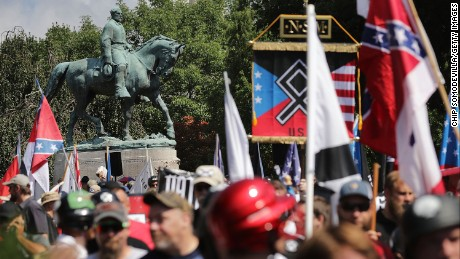 Violence erupts at a white nationalist rally in Charlottesville, Virginia (CNN.com)