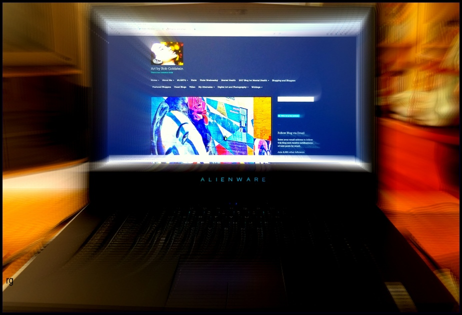 A Samsung photo of my new Alienware Laptop