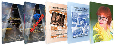 Marketing Graphic for Teagan's Books