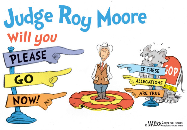 Dear Republicans, You're Dealing With The Devil By Supporting Judge Moore For The USSenate