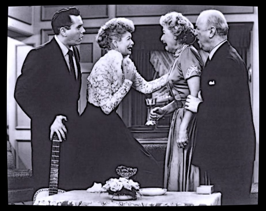 A Publicity Still from the I Love Lucy Show