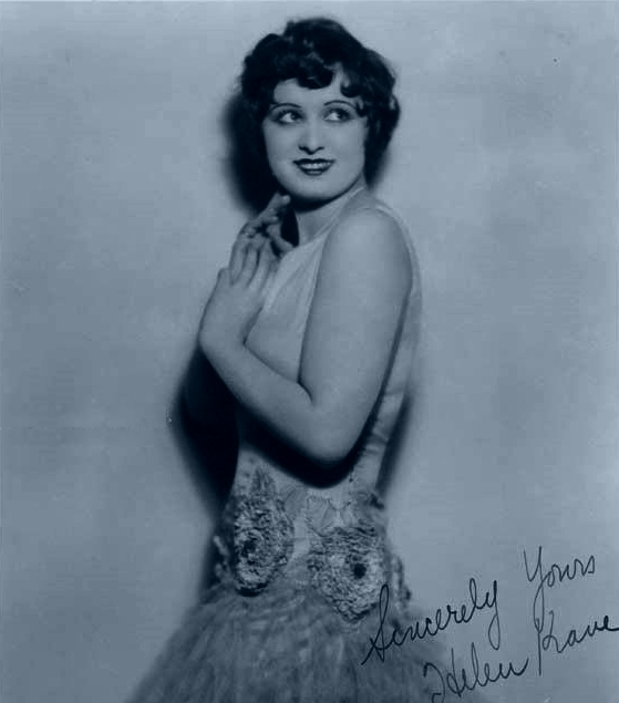 Photograph of 1920's vocalist, Helen Kane