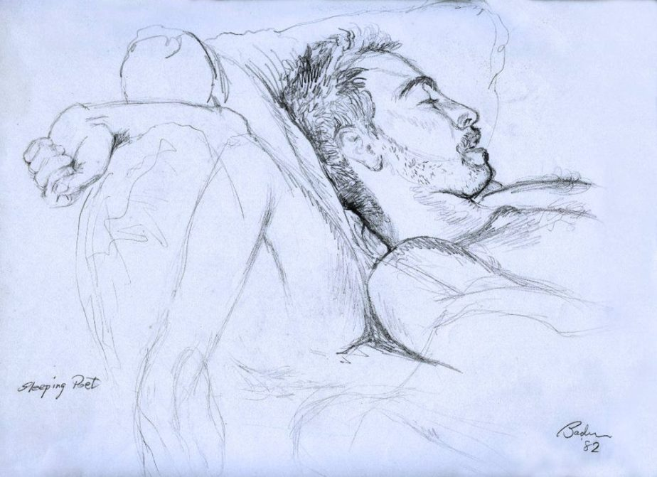 A sketch of Rob Goldstein by Scott Bader