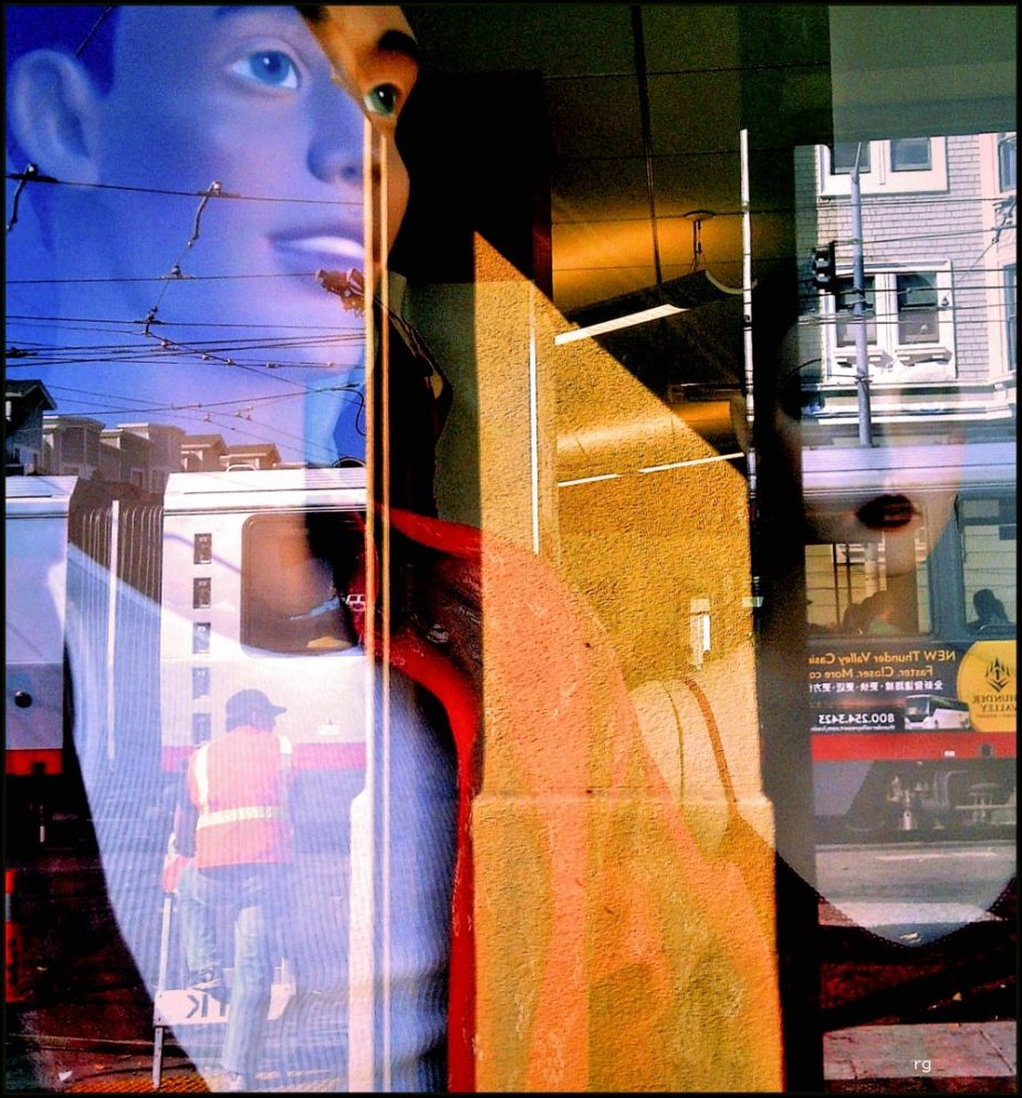 2011 Blackberry Photograph of Mannequins in a shopwindow in San Francisco