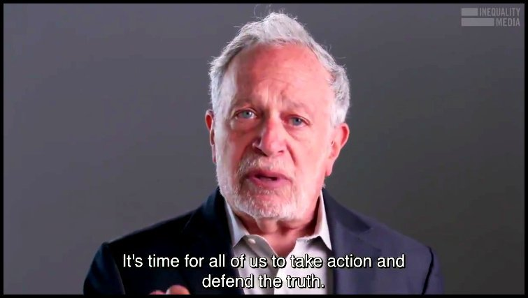 screenshot of Robert Reich on Twitter
