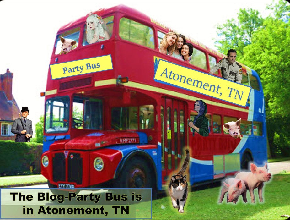 Book Launch – Party Bus & Atonement TN Book Fair!