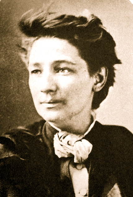 Photograph of Victoria Claflin Woodhull, Suffragette