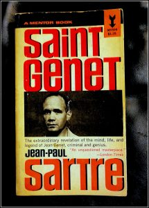 The Cover of St. Genet by Jean Paul Sarte