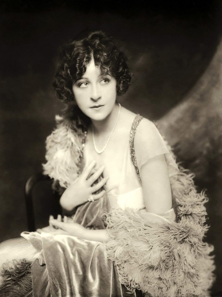 Publicity shot of Fanny Brice - c. 1915-1925 -