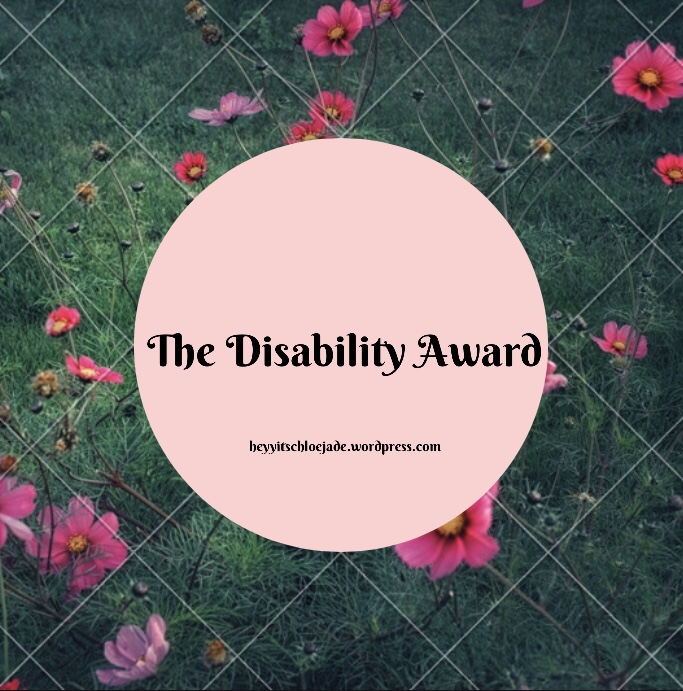 Awards: The Disability Award