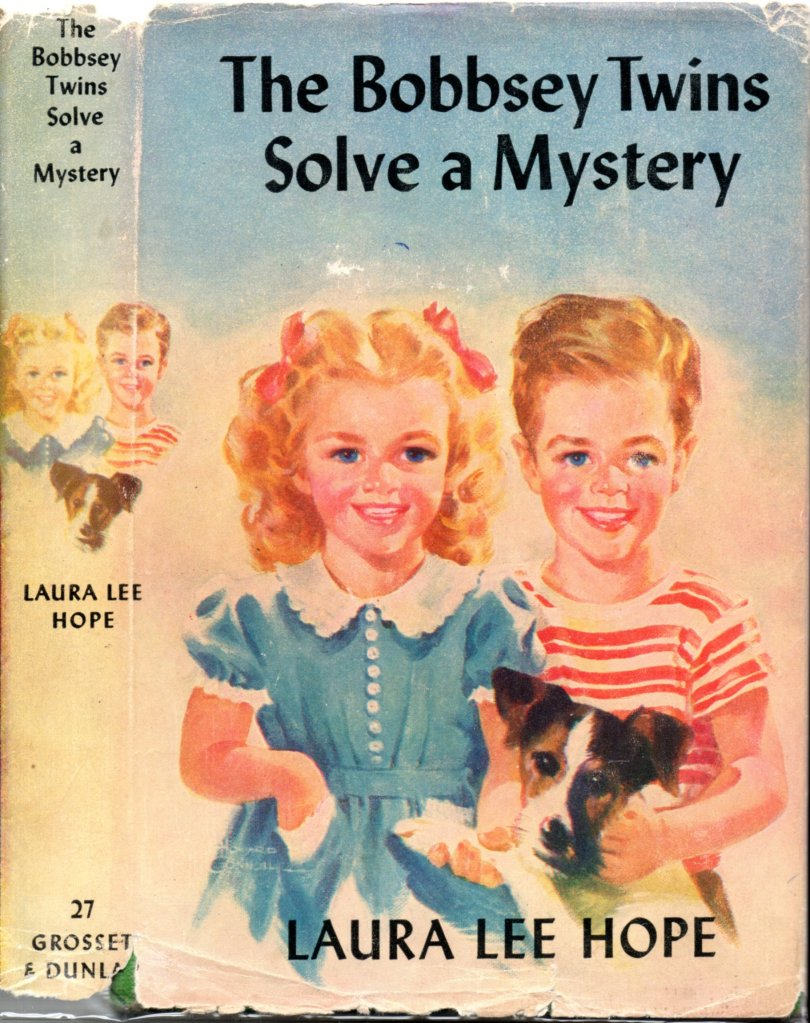 Bookcover for The Bobbsey Twins
