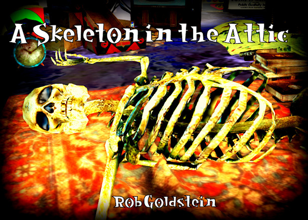 Bookcover for a Skeleton in the Attic