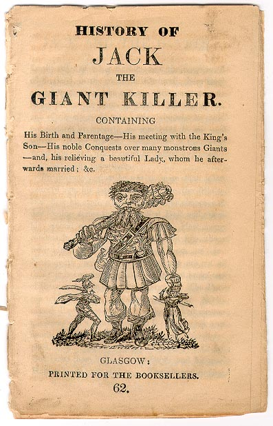 The Cover of Jack the Giant Killer